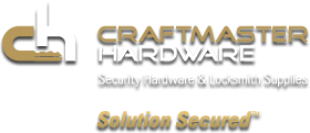 Craftmaster Hardware - Security Hardware & Locksmith Supplies
